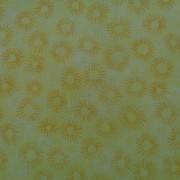 Bomullstyg gul blomma (Hopscotch)
