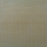 Bomullstyg gul rand