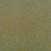 Bomullstyg gula cirklar (Suds)