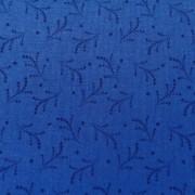 Bomullstyg klarblå kvist (Bear Essentials)
