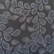 Bomullstyg blå bladranka (Newport Place)