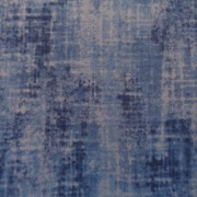 Bomullstyg blå melerat (Studio)