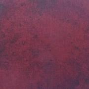 Bomullstyg vinröd melerad (Suede)