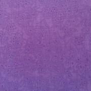 Bomullstyg lila blad (Spring)