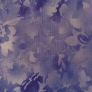 Bomullstyg lila blommor (Fusions Bloom)