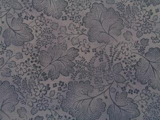 Bomullstyg lila blad (Jinny Beyer)