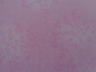 Bomullstyg rosa mönster (Fleur)