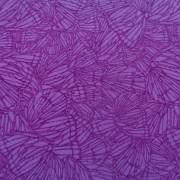 Bomullstyg mörkrosa mönster (Butterfly Forest)