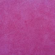 Bomullstyg rosa prickar (Dimples)