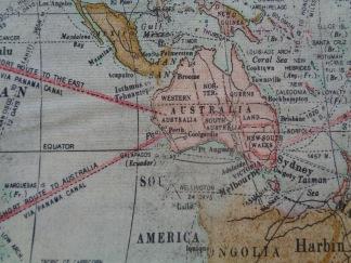 Bomullstyg karta (Expedition)