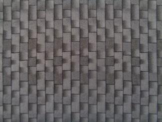 Bomullstyg grått tegel (Architectural)