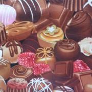 Bomullstyg choklad (Chocolate)