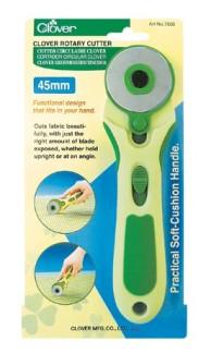 Rullkniv 45 mm (Clover)