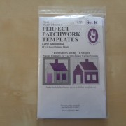 Perfect Patchwork Templates Set K (Marti Michell)