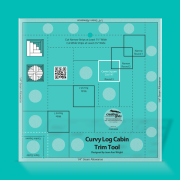 Curvy Log Cabin Trim Tool (Creative Grids)