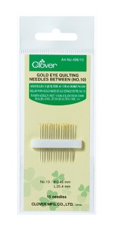 Quiltnål Gold Eye Quilting Needles (Clover)
