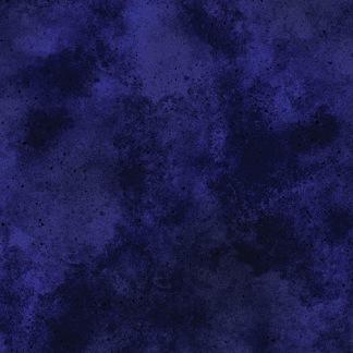 Bomullstyg blått melerat (New Hue)