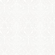 Bomullstyg vitt/grått (Lilacs in Bloom)