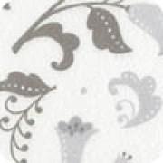 Bomullstyg gråmönstrad flanell (Fleurie)