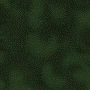 Bomullstyg grönt/guldprickar (Metallic Dots)
