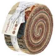 Pumpkin Pie Jelly Roll (Moda Fabrics)
