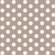 Bomullstyg grå prick (Tilda Dots)