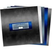 10 Karat Mini Gems Ombre Washart Blue Steel
