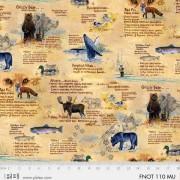 Bomullstyg vilda djur (Field Notes)