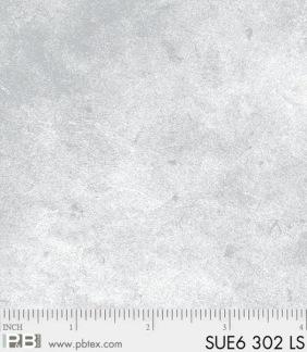 Bomullstyg ljusgråmelerat (Suede)
