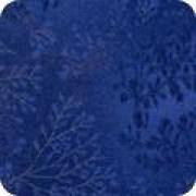 Bomullstyg melerat blått (Fusions)
