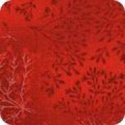 Bomullstyg melerat rött (Fusions)
