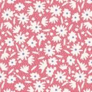 Småmönstrat bomullstyg rött (Tilda Bon Voyage)