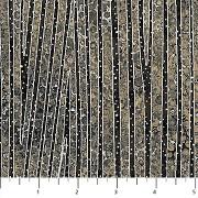 Bomullstyg svart-grå-silver (Northcott)