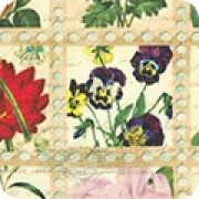 Bomullstyg blommor (Library of Rarities)