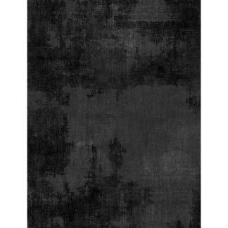 Bomullstyg svart (Dry Brush)