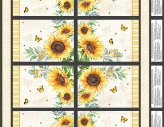 Panel bordstablett solros (Sundance Meadow)