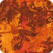 Bomullstyg abstrakt (Warehouse District saffron)