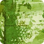 Bomullstyg abstrakt (Warehouse District Essex moss)