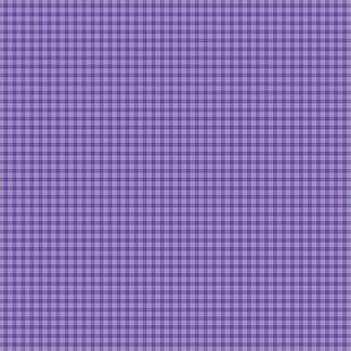 Bomullstyg vävda rutor lavendel (Mini Gingham)