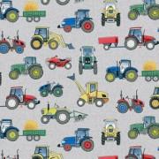 Bomullstyg traktorer (Village Life)