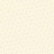 Bomullstyg små blad beige (Makower)