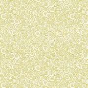 Bomullstyg natur-guld (Classic Foliage)