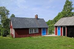 yr stugan Äppelboda. Naturskönt läge vid Lagan utanför Laholm i södra Halland