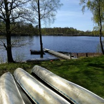 Kanoter, båtar och fiskekort