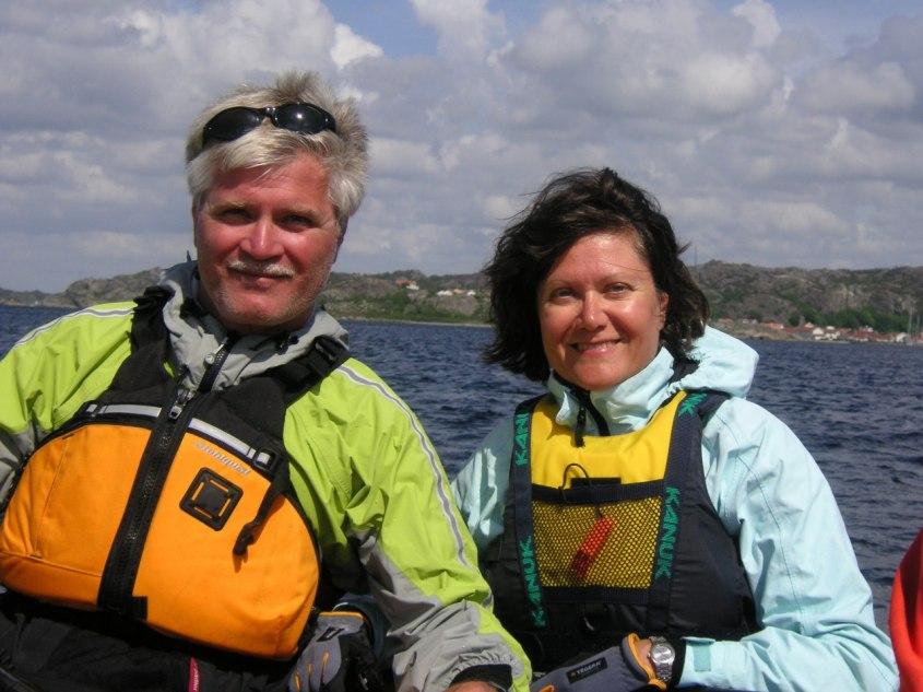 Berndt och Monica norr om Lavön