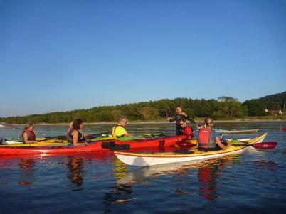 Samling för nya paddeltag