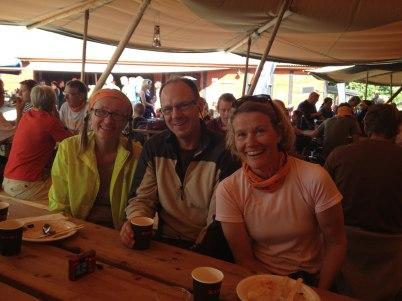 Lunchdax, jättegod mat. Anne-Grethe (KFÖ), Lars o Maria