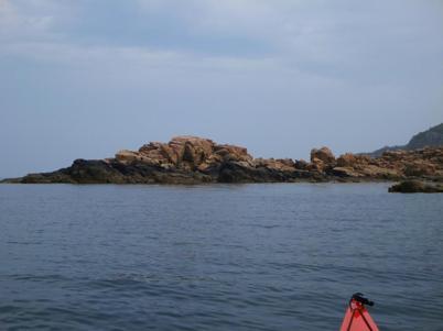 Hovs hallars vackra klippor