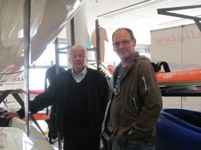 Anders och Lars i shoppartagen