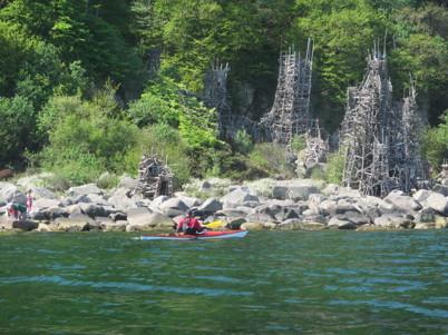 En lagom medvind, platt vatten och fantastisk natur att titta på. Nimis från sjödsidan!